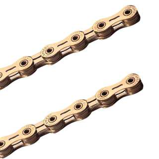 🚚 YBN SLA101 10 speed chain 116L gold color chain hollow design for road & MTB
