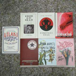 Take all RM30! Lejen & Terfaktab Novel #under90