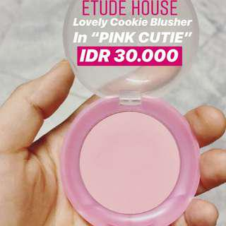"ETUDE HOUSE Lovely Cookie Blusher in ""Pink Cutie"""