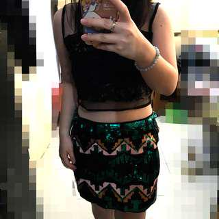 HnM party skirt