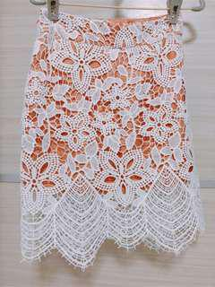 TEM The Editor's Market Lace Skirt