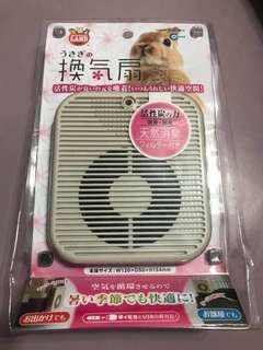 預訂 小動物 USB 電池 兩用 散熱風扇 加除塵 除臭網