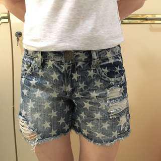 Stars Shorts Jeans