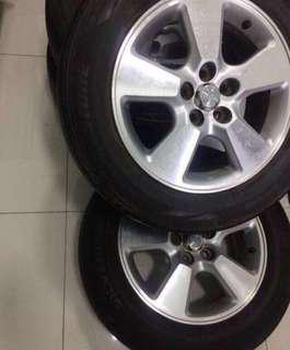 Rim15 with tyre