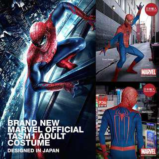 Brand New Marvel Licensed Spiderman Movie Costume for adult