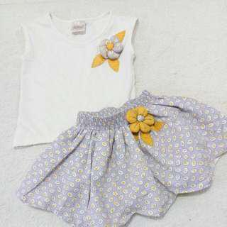 Babies Wear - Lilly Terno Skirt