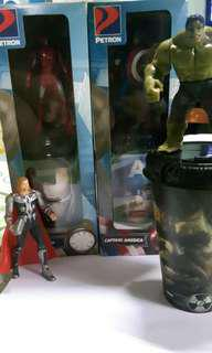 Avengers collectible tumblers by Petron