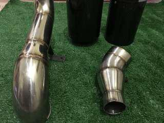 Intake pipe