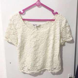 New Look Lace Crop Top