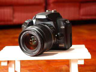 Canon 1000D | 10mp no video recording