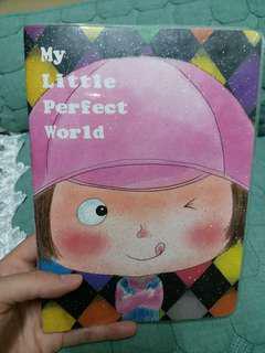 my little perfect world notebook