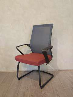 Conference chair (red)