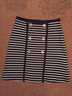 Japanese marine stripes skirt Equipements Militaires