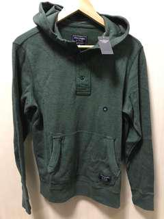 BNEW AUTHENTIC Abercrombie waffle henley hoodie