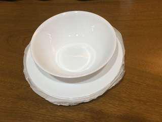 Corelle 5pcs dinnerware