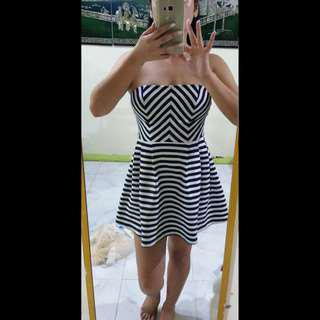 Forever 21 thick padded tube dress