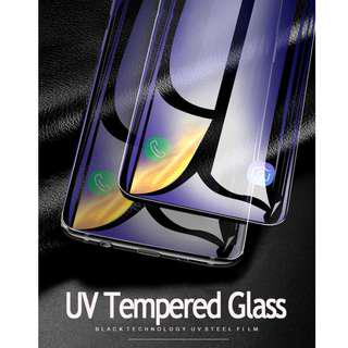 Samsung Galaxy S8/S8 Plus Nano Liquid UV Tempered Glass