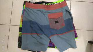 O'neil and Volcom Board shorts