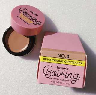 BNIB Benefit Boi-ing Brightening Concealer in 03