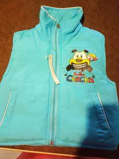 Baby/ toddler Vest (light blue)