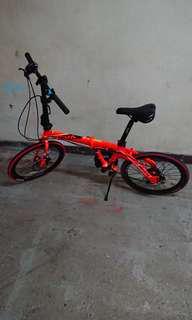 Java 7速 單車 摺車