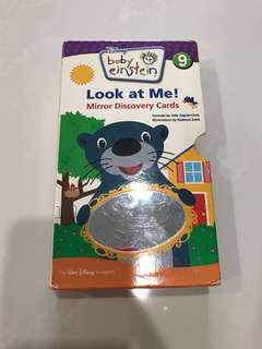 Preloved Baby Einstein Look at Me Mirror Discovery Cards