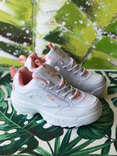Fila Disrutor 2 White Pink (Including postage)