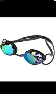 New professional swimming goggle mirrored lens