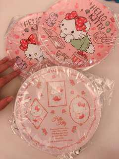 日版 Hello Kitty 膠碟(3隻$45)