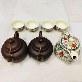 Chinese Tea Pot - 3 + 4 cups #UNDER90