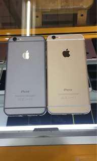 iphone 6 64gb gold & grai ex inter