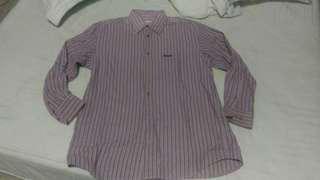 日本帶回 古著 二手 vintage 長袖 襯衫 條紋
