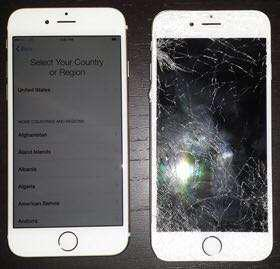 Face to Face fast repairing iPhone