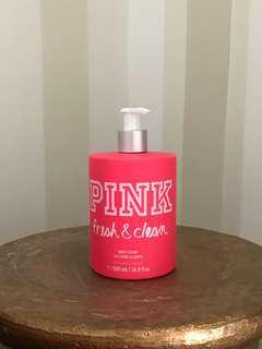 Original Victoria's Secret  Pink Fresh & Clean Body Lotion