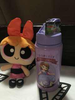 Sofia The First Drinking Bottle with straw