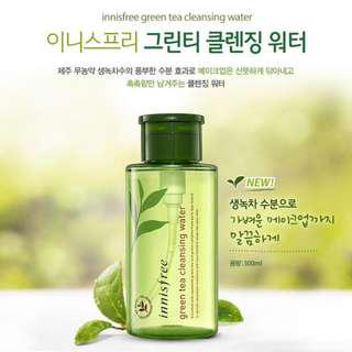 Innisfree Green Tea Cleansing Water 300ml (NEW) #under90