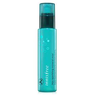 Innisfree Jeju Sparkling Mineral Mist 80ml (NEW) with free samples #under90