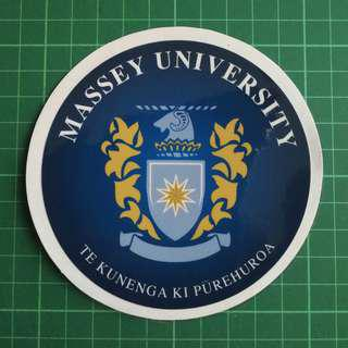 Massey University - Static Cling Decals. Pls note that this is not a sticker. 11cm diameter. $6 each / 3 for $15. Free Normal Mail. Add $2.90 for AM Mail