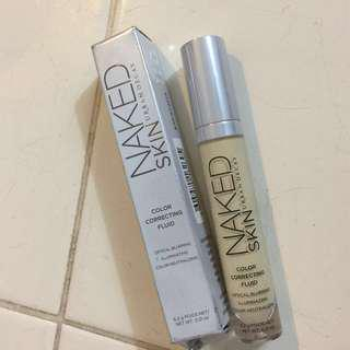 Urban Decay Naked Skin Color Correcting Fluid (Yellow-6.2g)-Preloved (70% Left) #under90