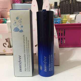 Innisfree Jeju Lava Seawater Intensive Ampule-30ml (Preloved-50% Left) #under90