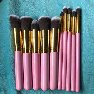 Kabuki Brush Set 10 Pieces