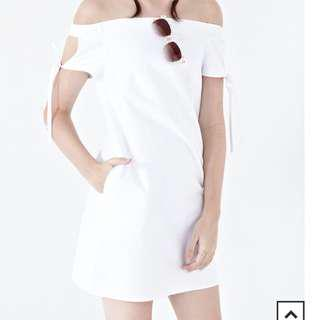 (New) Twenty3 White Crop Dress #under90