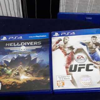 Helldivers and ufc