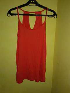 Old navy  halter strap top (orange)