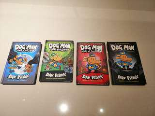 Dog Man series set