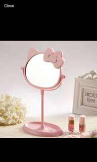 Hello Kitty Mirror and Tray