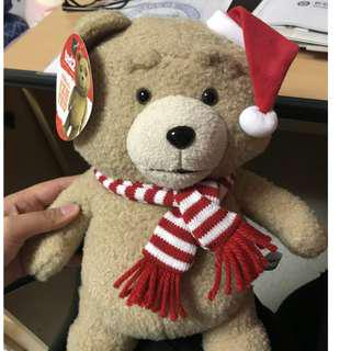 Ted 2 Plushie - Christmas Edition