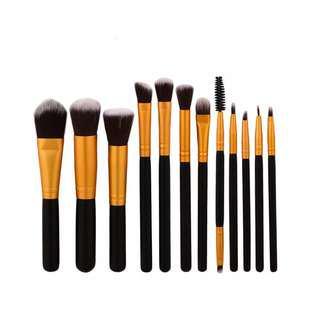 Black Kabuki Complete Brush 12 Set