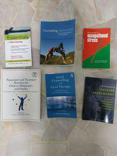 🚚 Clinical psychology and counseling / mental health books