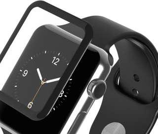 Apple Watch 3D Full Cover Tempered Glass Screen Protector